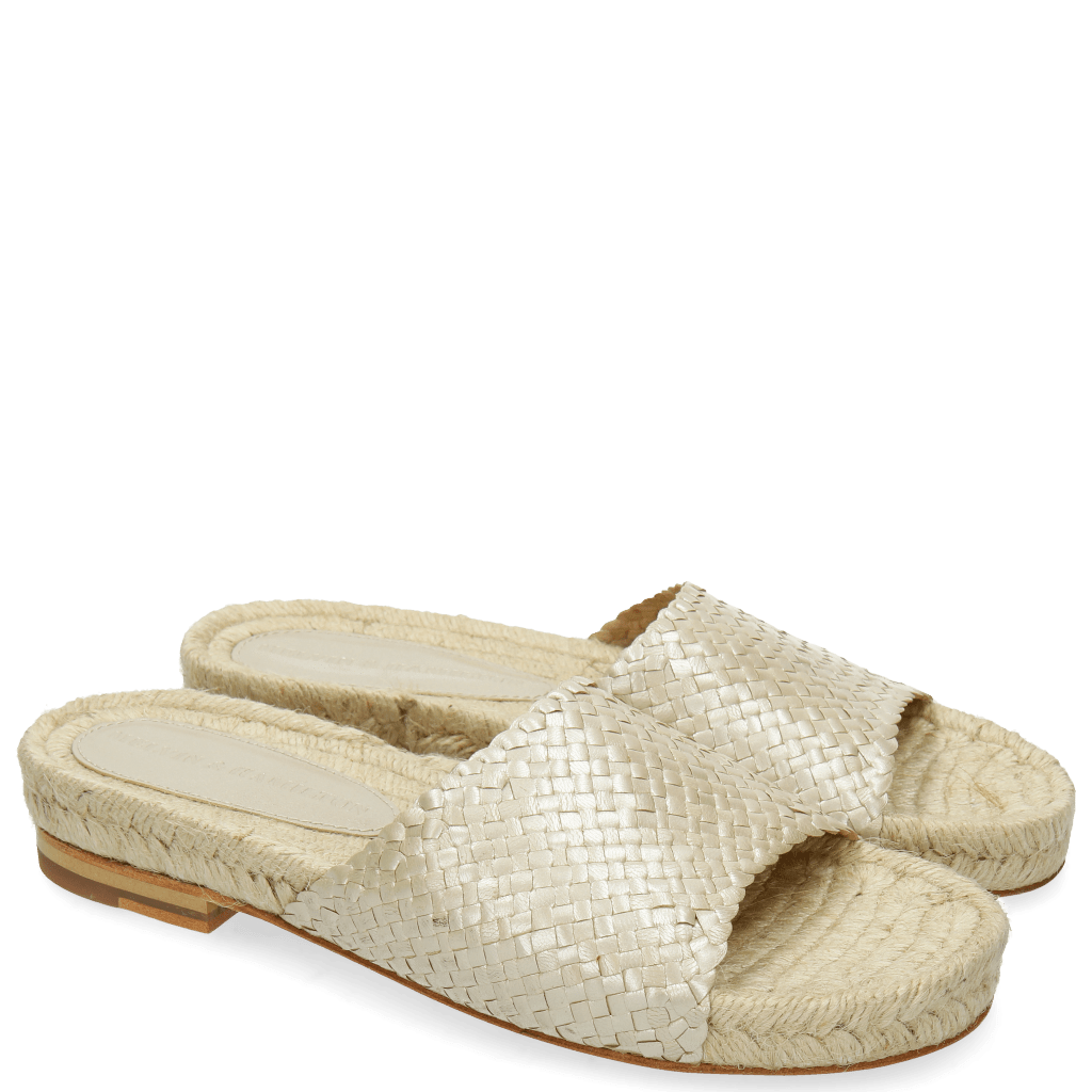 Mules Hanna 5 Woven Pearlized