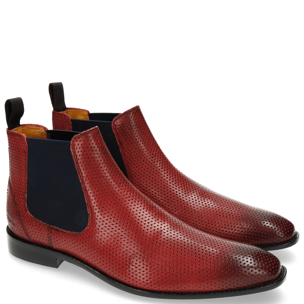 Ankle boots Xevar 1 Perfo Red