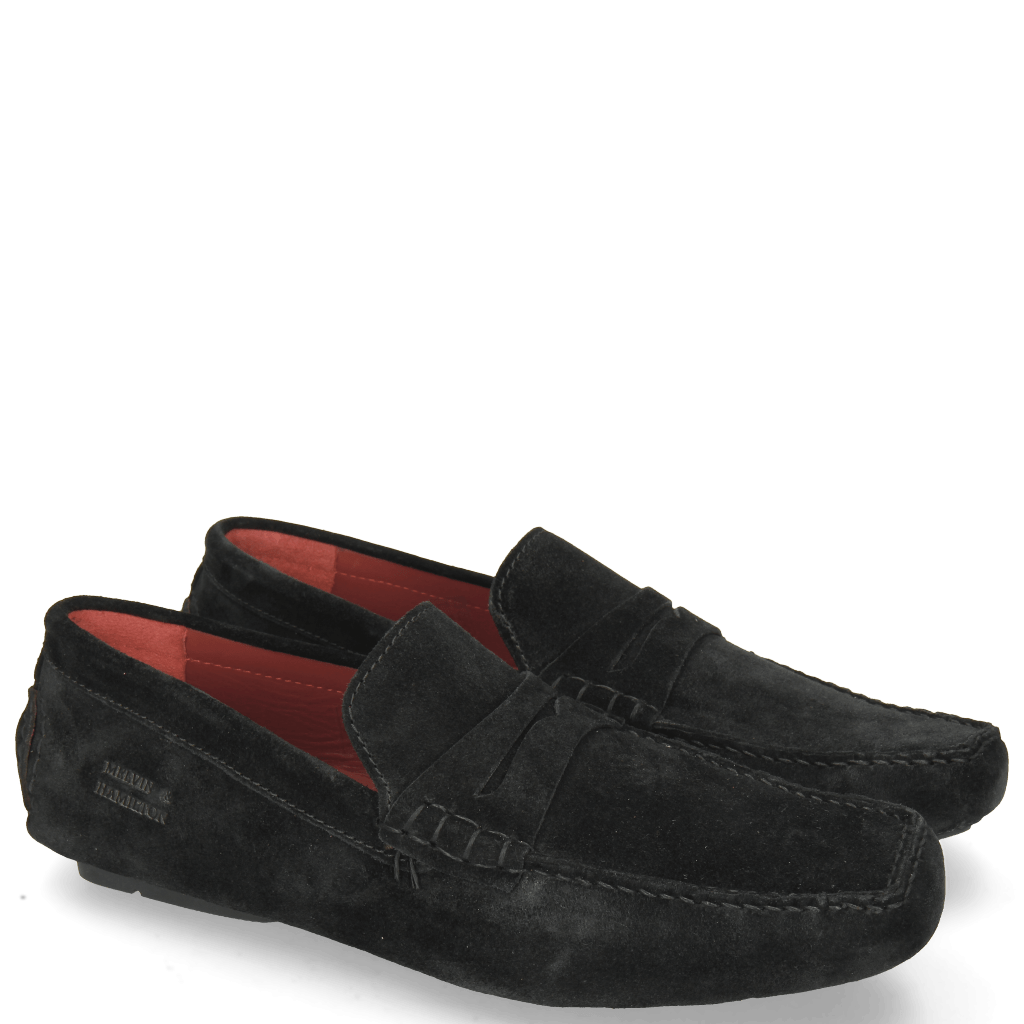 Loafers Driver 4 Suede Black