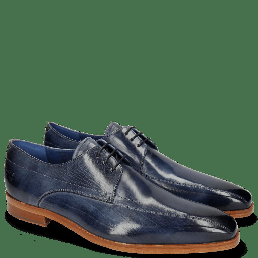 Derby shoes Lewis 10 Moroccan Blue