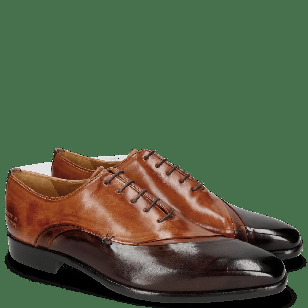 Oxford shoes Lance 44 Mogano Wood Tan