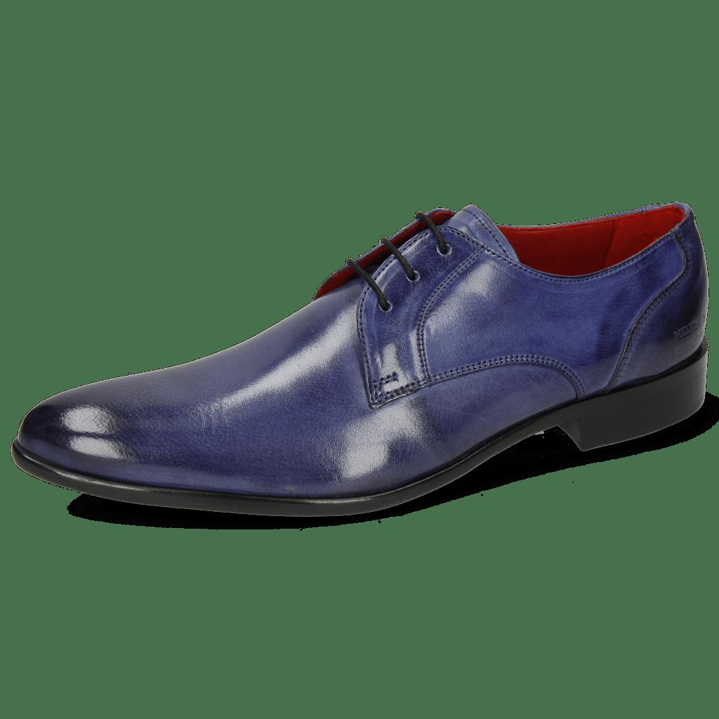 Derby shoes Toni 1 Forum Light Cobalt Lining Red