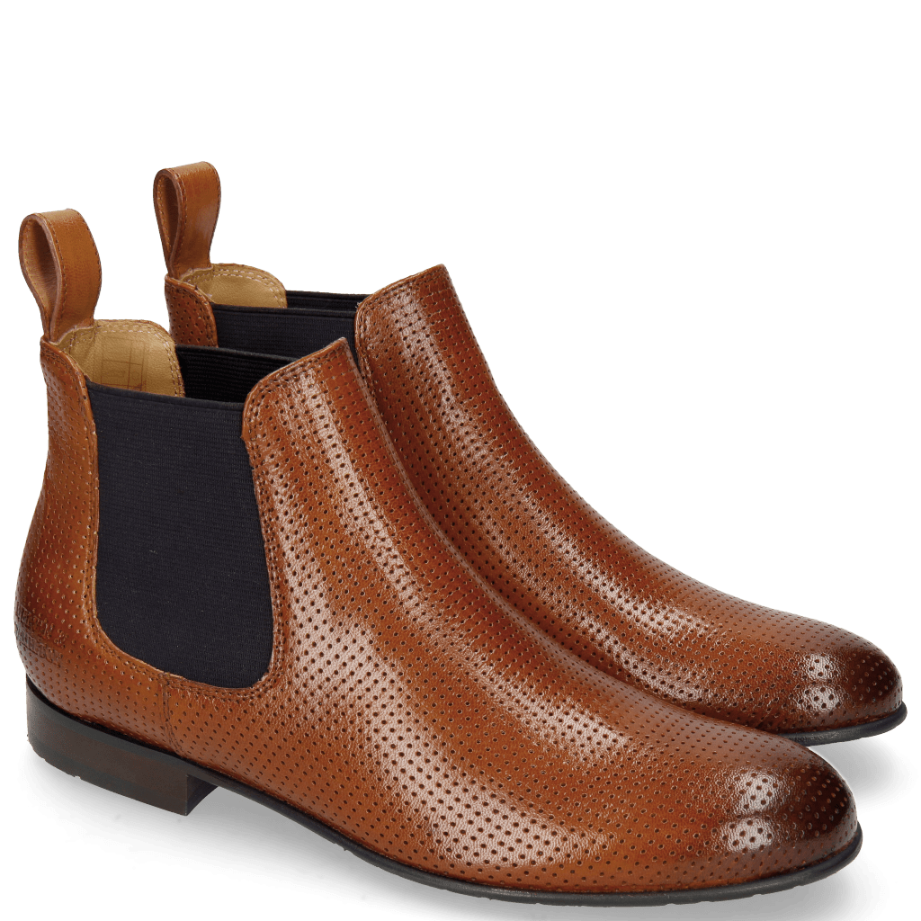 Ankle boots Xia 1 Rio Perfo Tan