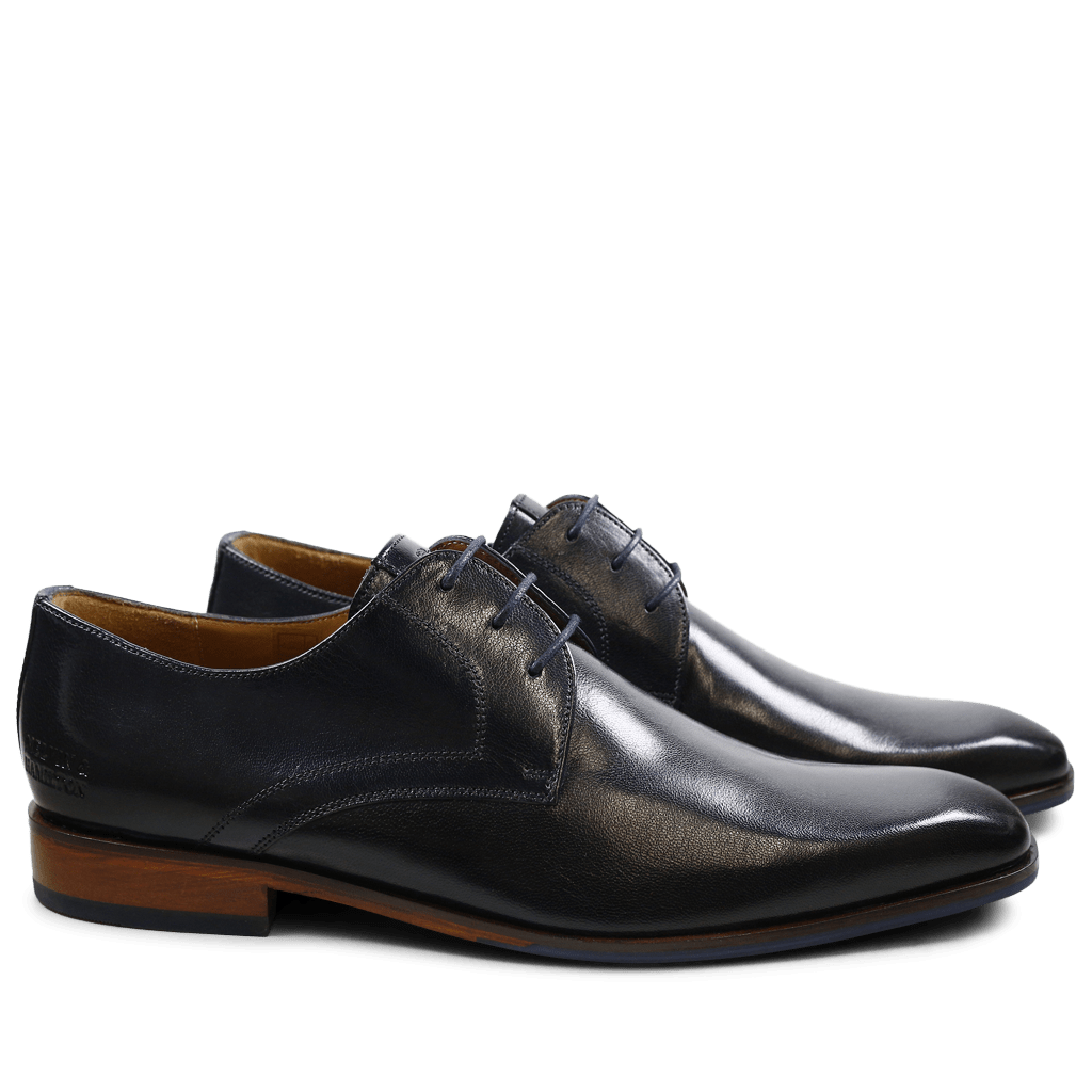 Derby shoes Xander 1 Venice Navy HRS Navy