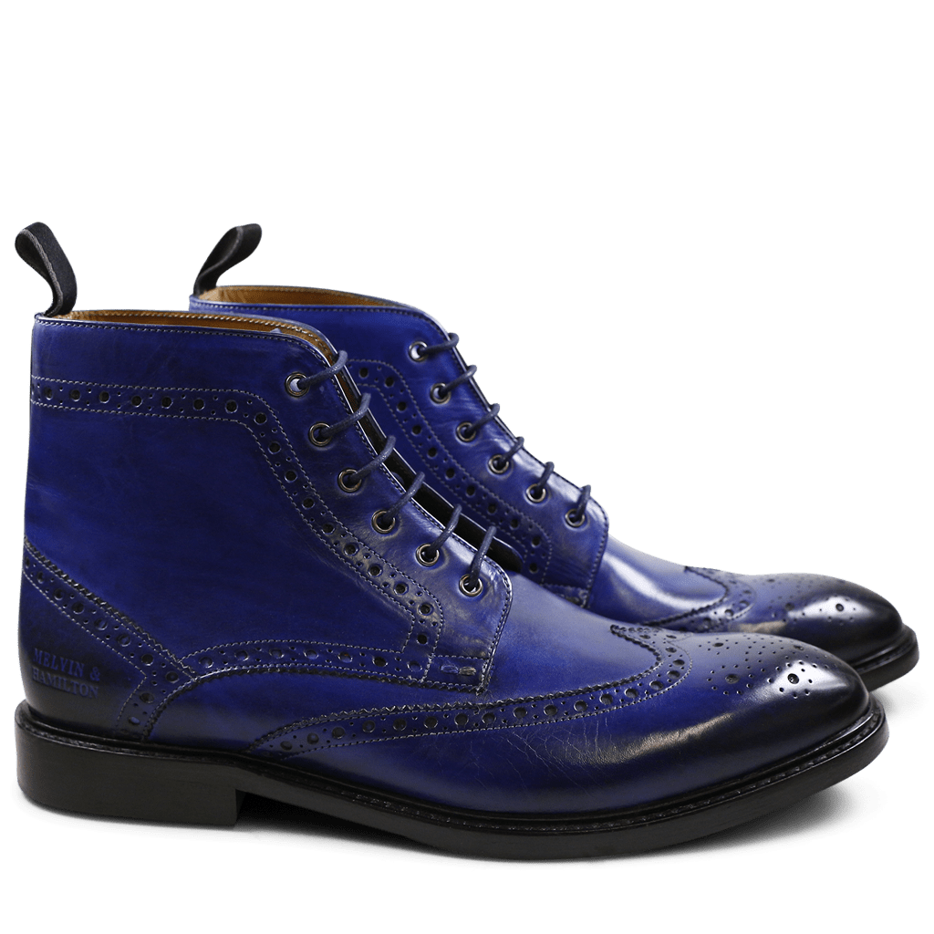 Ankle boots Matthew 7 Crust Electric Blue HRS