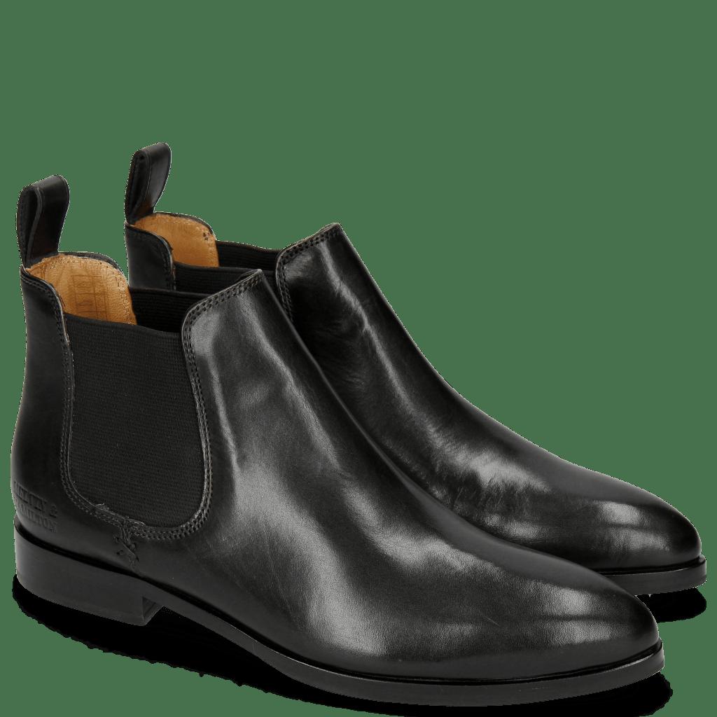 Ankle boots Jessy 1 Black Elastic Black