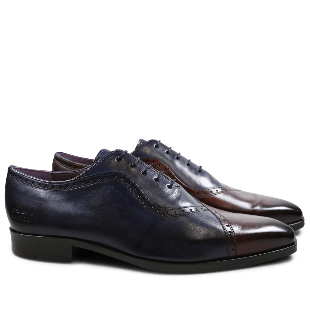Oxford shoes Lance 16 Burgundy Navy HRS
