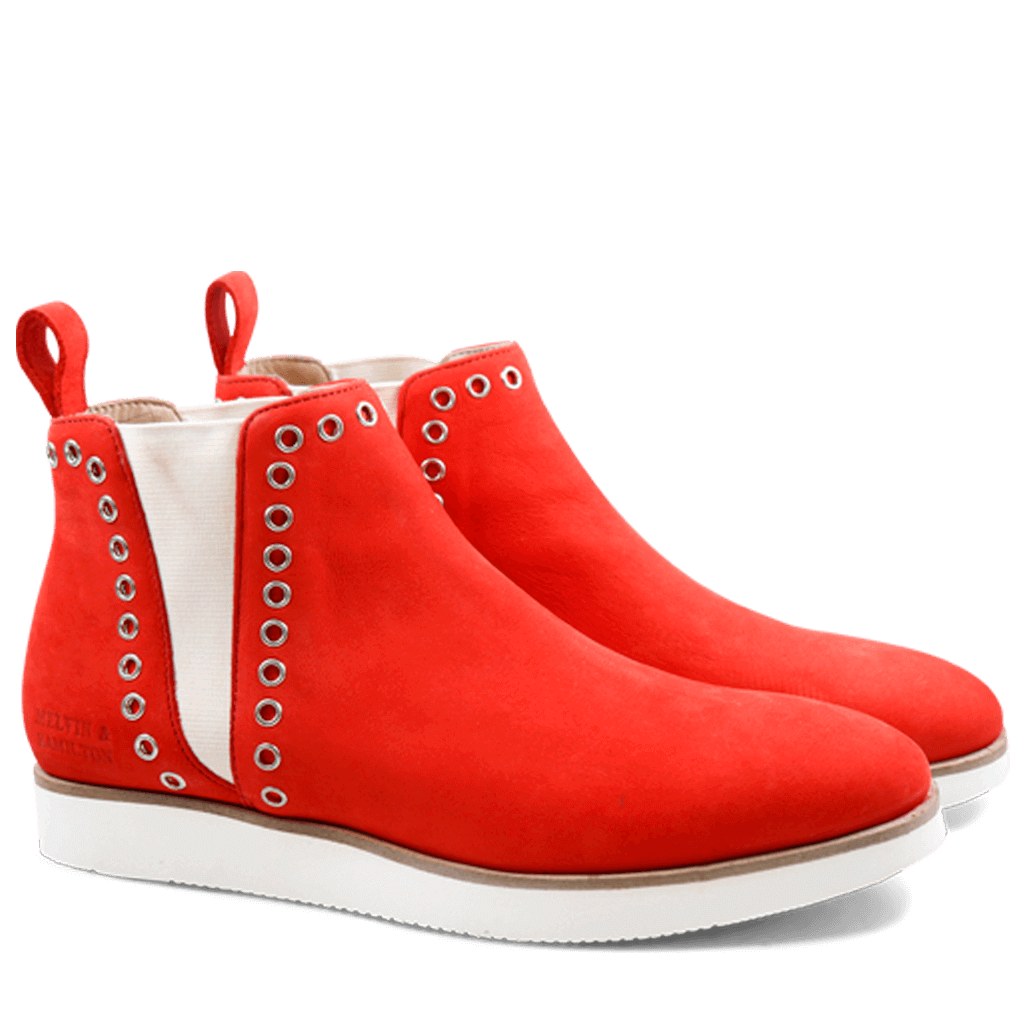 Ankle boots Melia 7 Elko Nubuk Coral