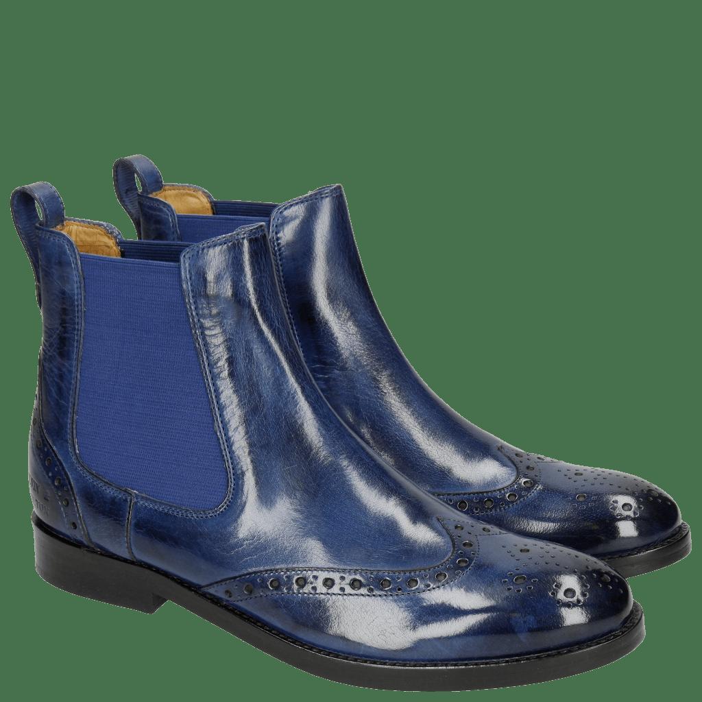 Ankle boots Amelie 5  Electric Blue Elastic Electric Blue LS