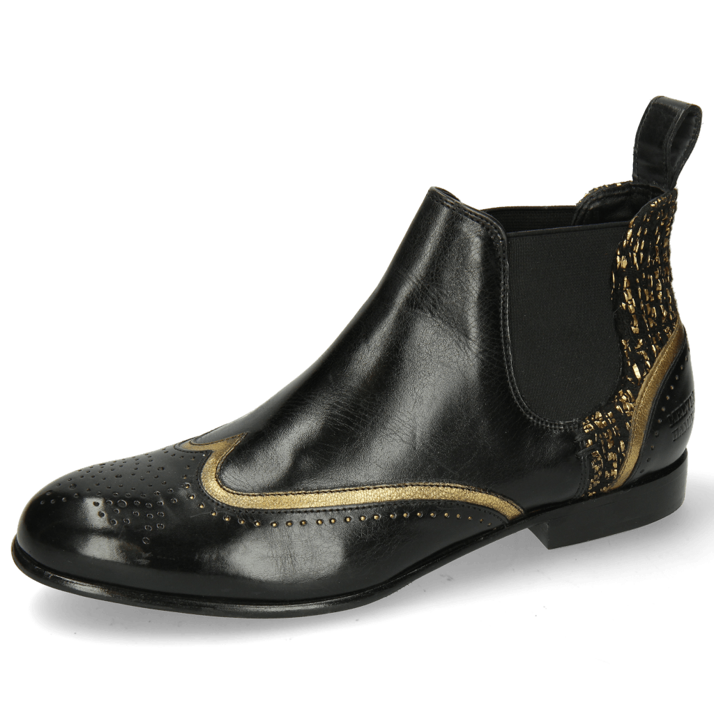 Ankle boots Sally 19 Venit Black Textile Tweed