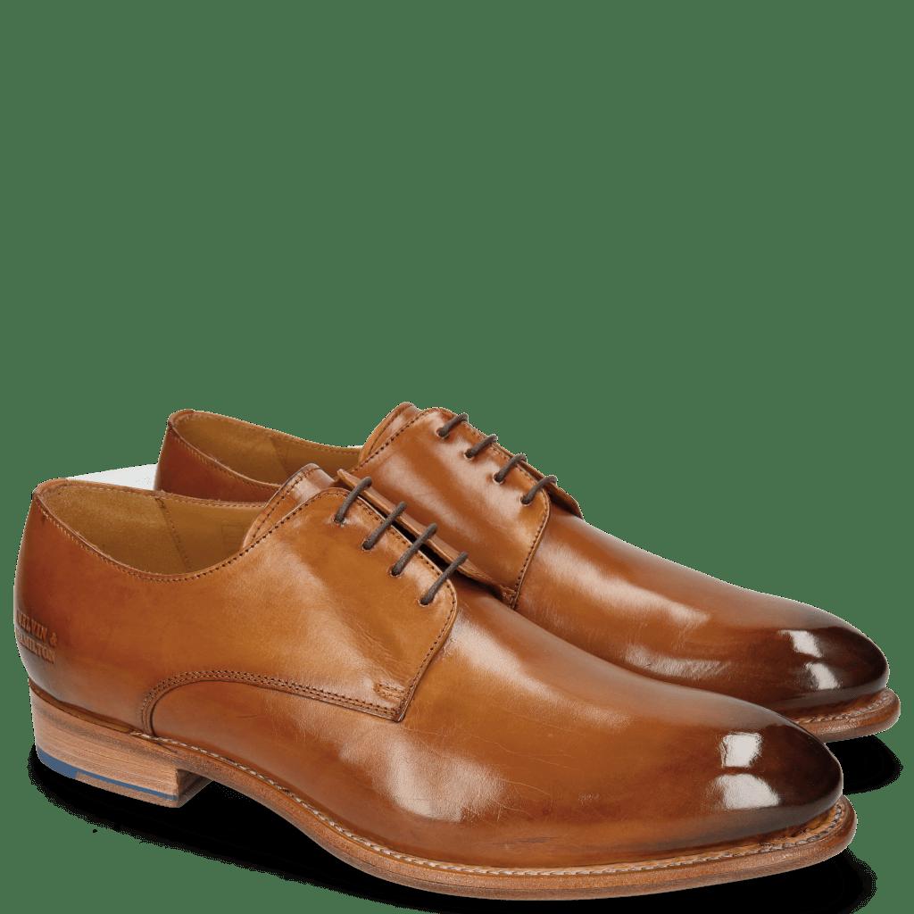 Derby shoes Lionel 3 Tan