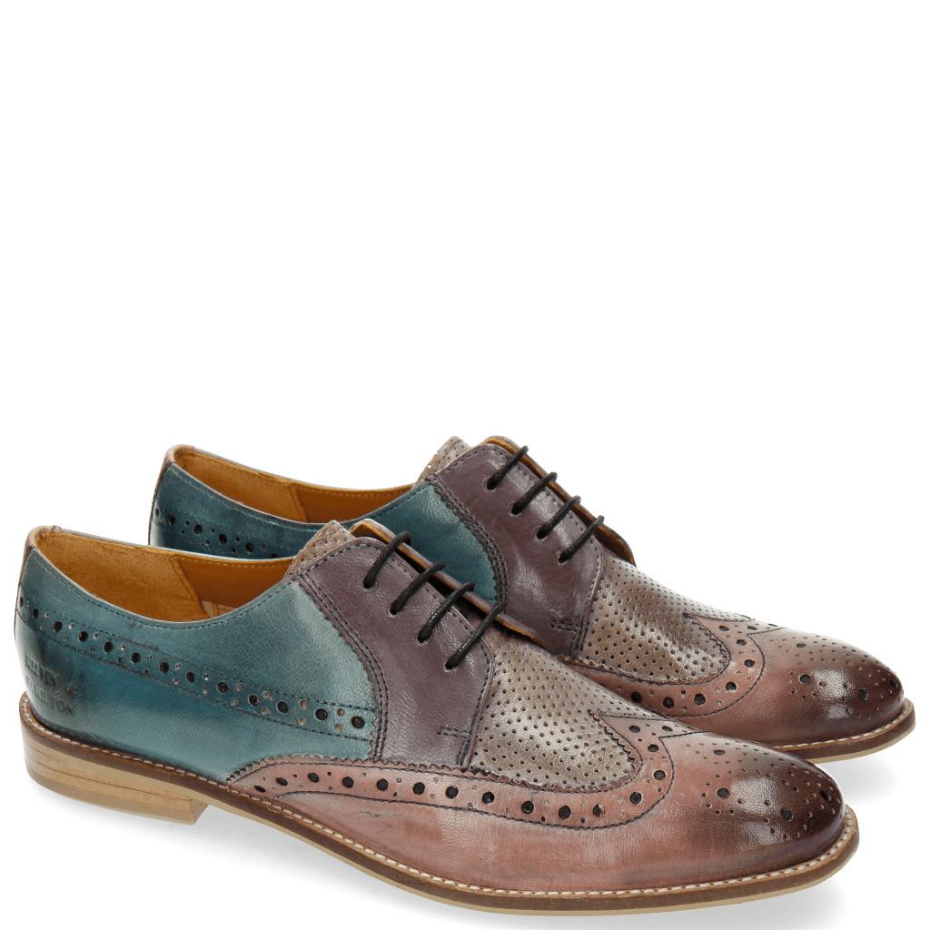 Derby shoes Xenia 2 Pale Rose Oxygen Pale Lila Clear Water