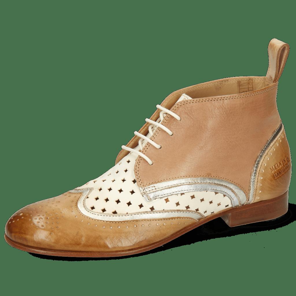 Ankle boots Sally 30 Imola Sand Talca Platina