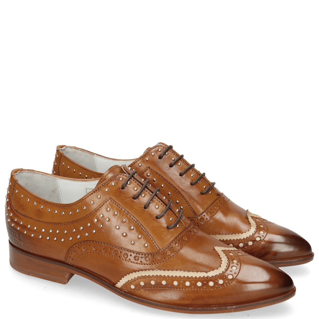 Oxford shoes Jessy 44 Tan Nude