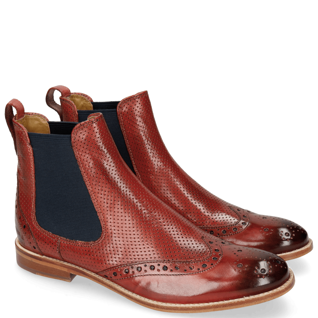 Ankle boots Amelie 5 Perfo Fiesta