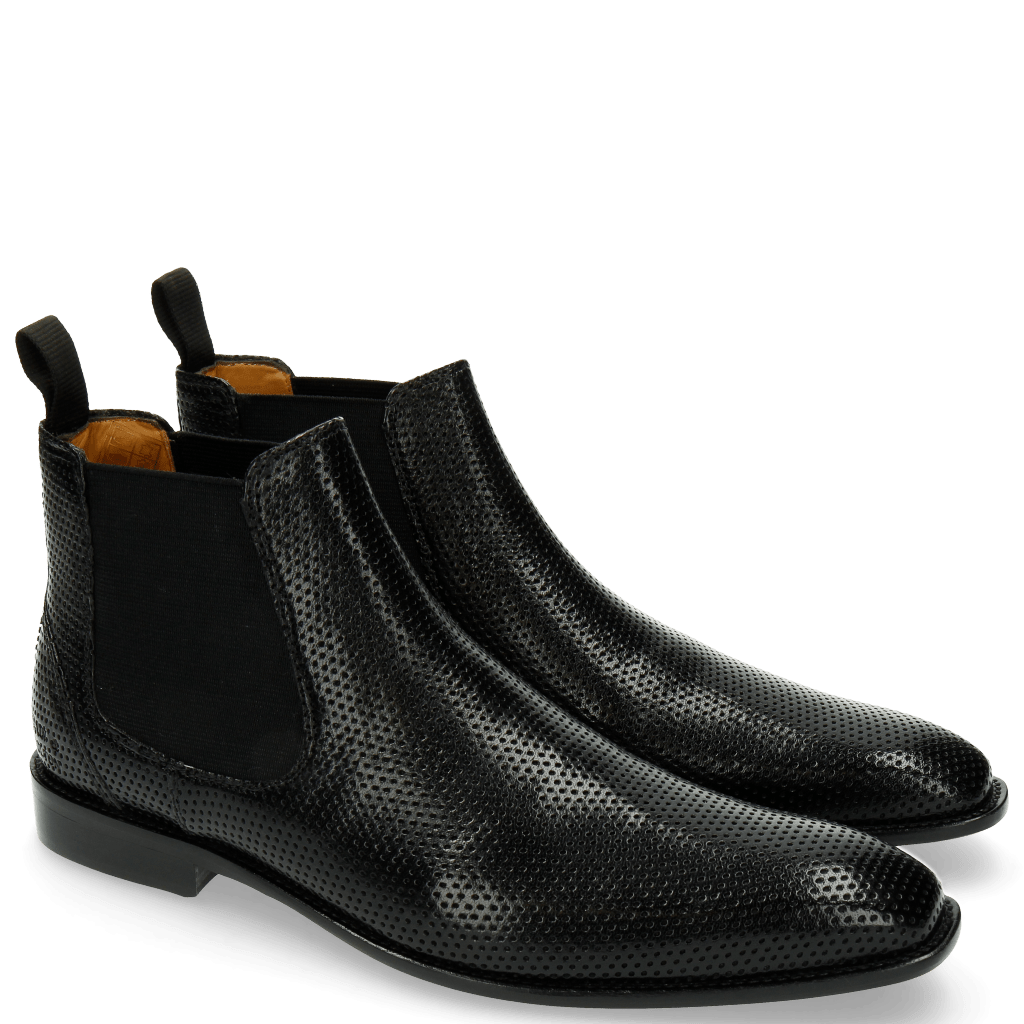 Ankle boots Xevar 1 Perfo Black