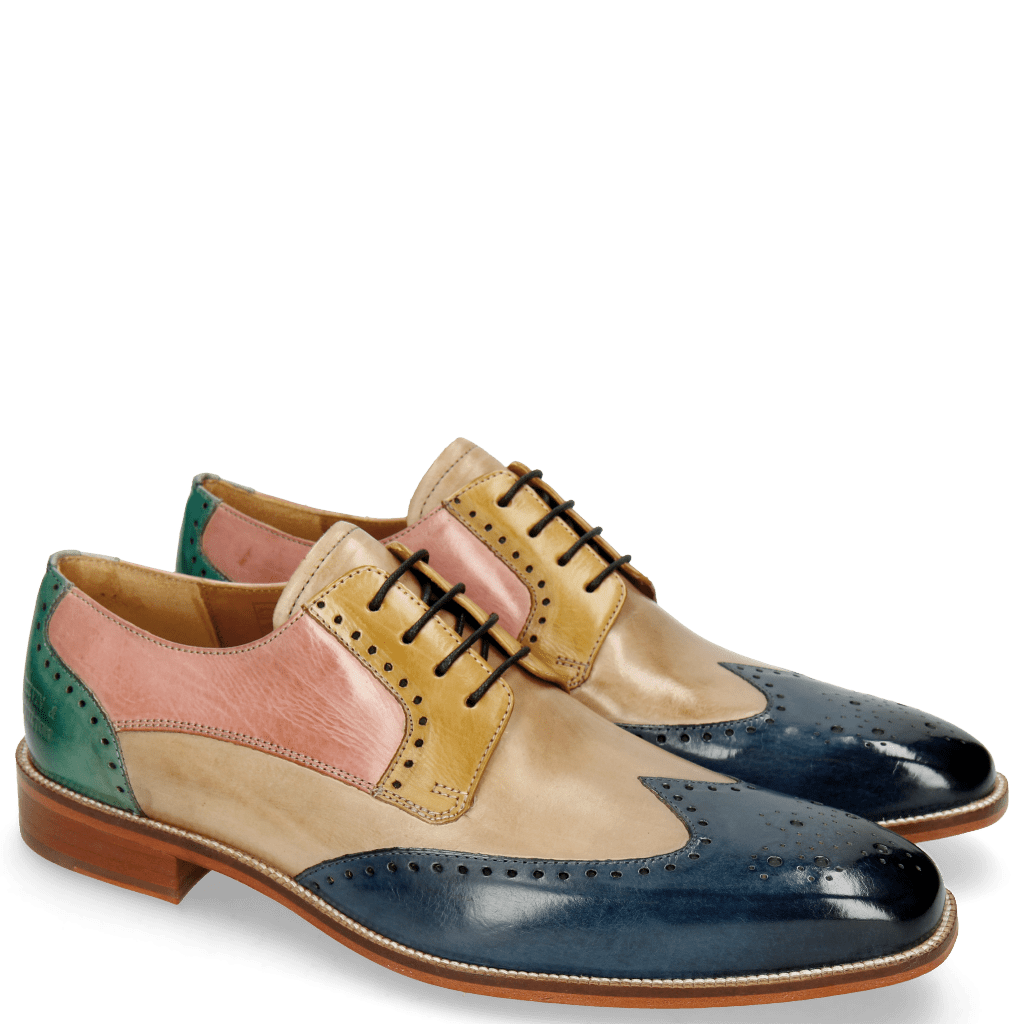 Derby shoes Jeff 14 Wind Digital Olivine Skin