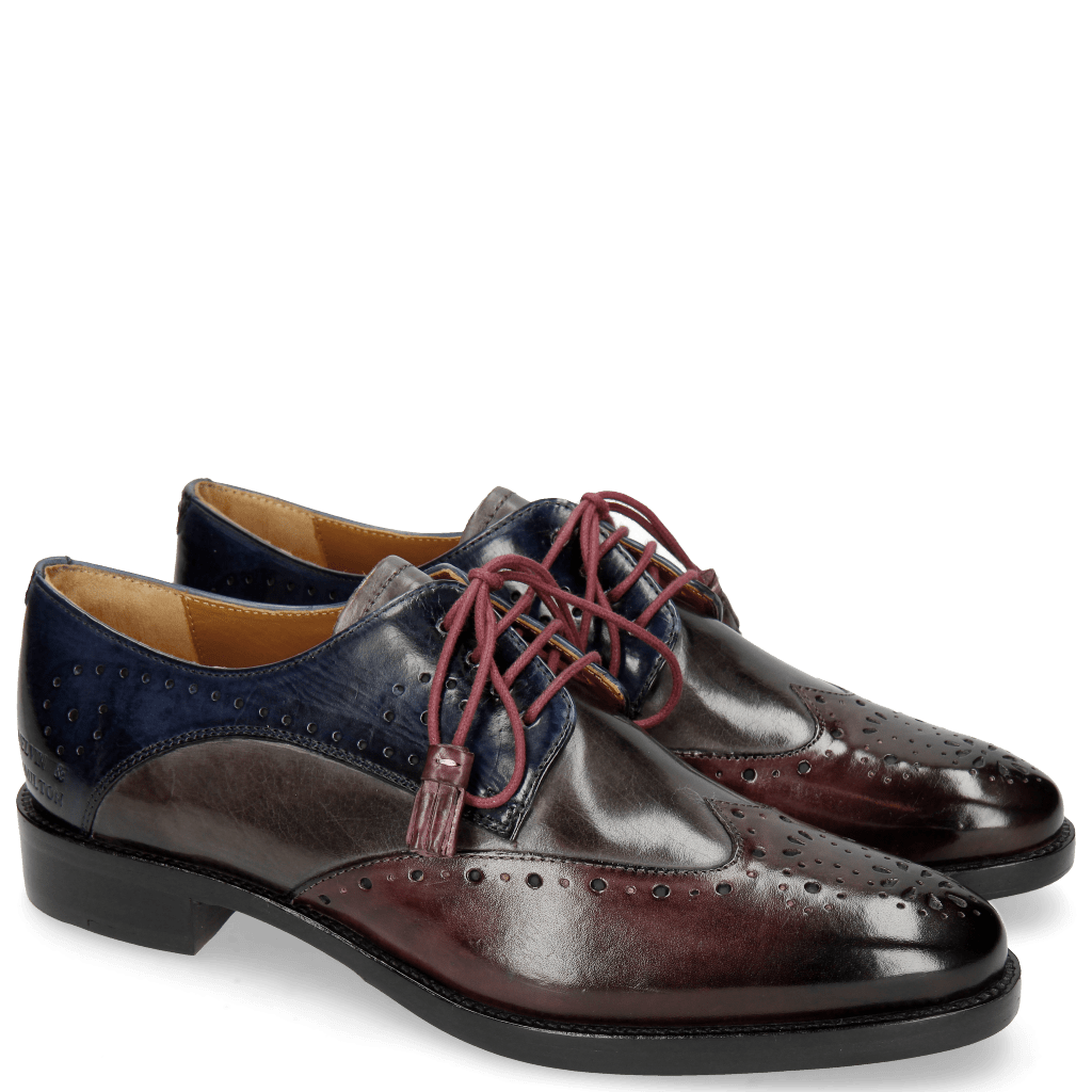 Derby shoes Betty 2 Deep Pink