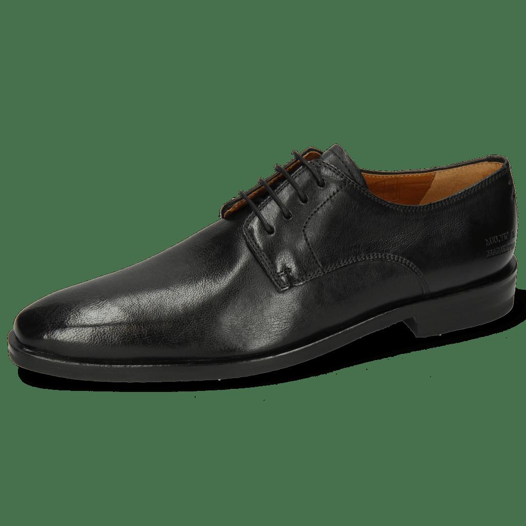 Derby shoes Alex 1 Remo Black Lining Rich Tan
