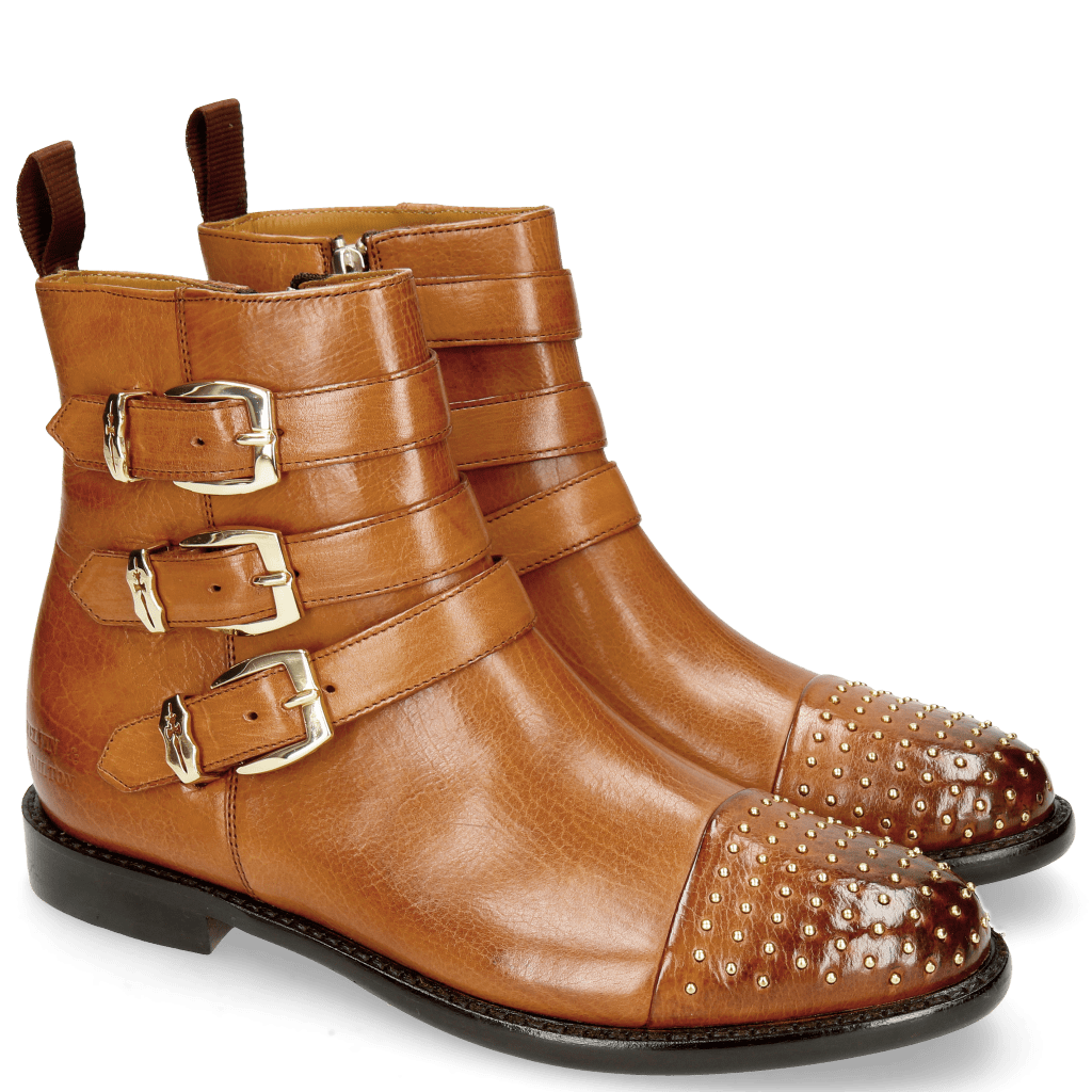 Ankle boots Selina 20 Indus Wood Rivets Gold