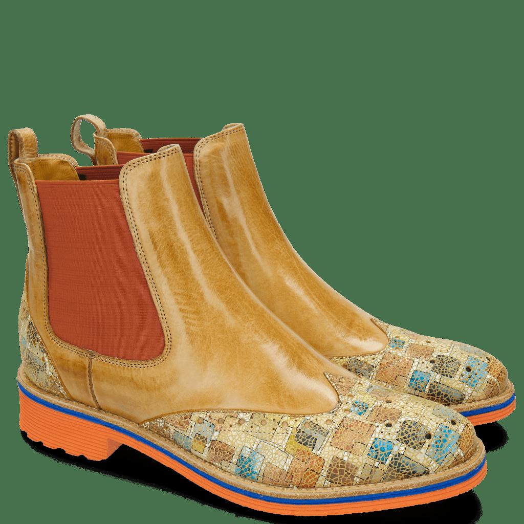 Ankle boots Amelie 5 Florida Cinnamon Nude