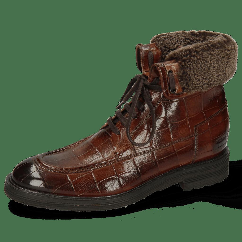 Ankle boots Trevor 31 Turtle Brown Sherling Cognac