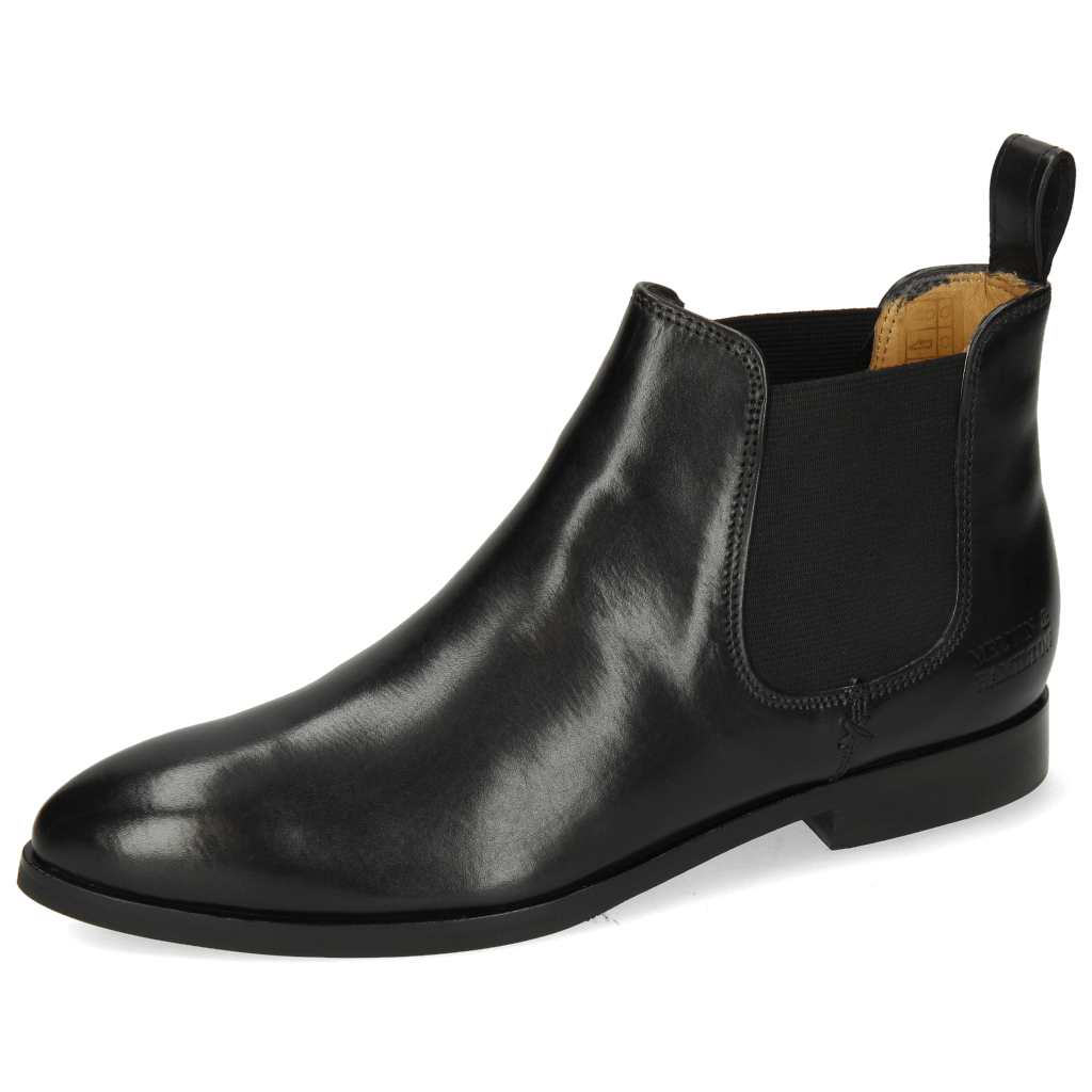 Ankle boots Jessy 1 Black Elastic Black Lining Nappa