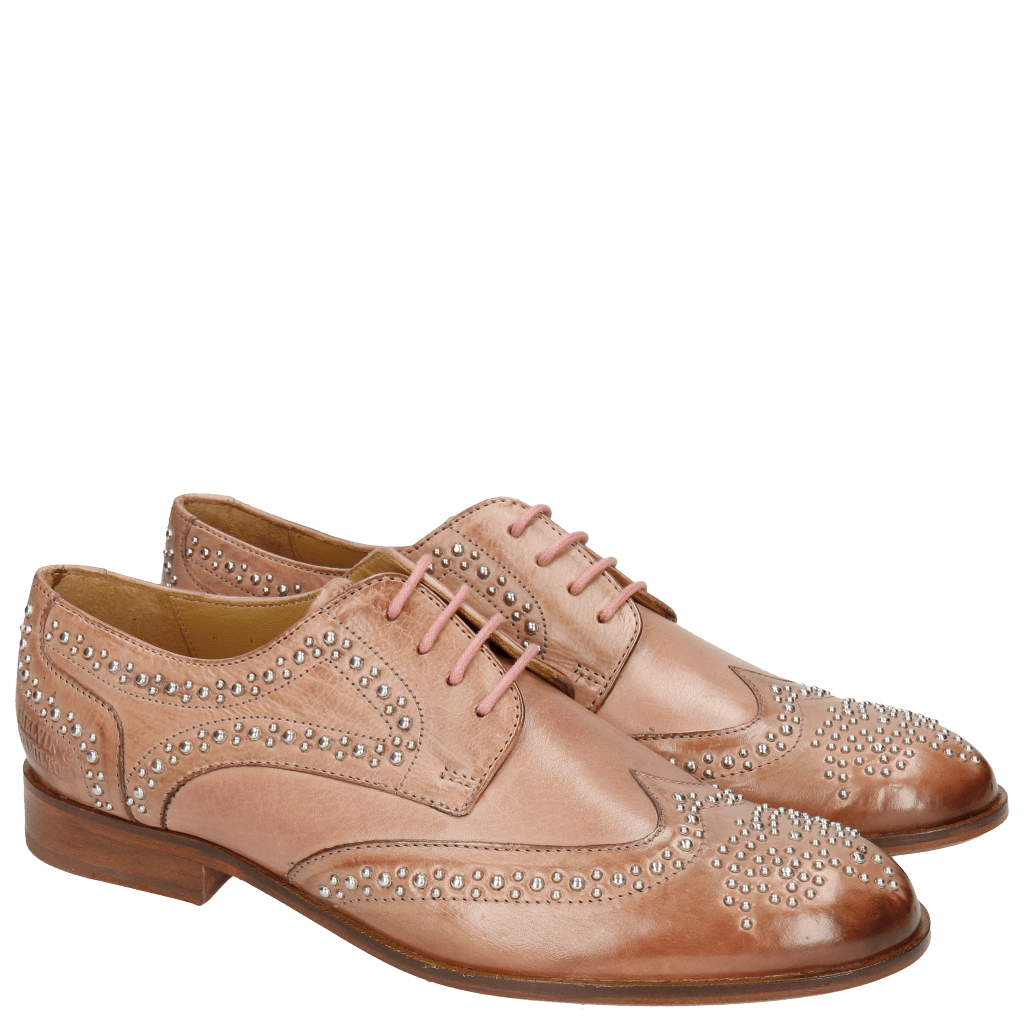 Derby shoes Sally 53  Berlin Rivets Soft Natural