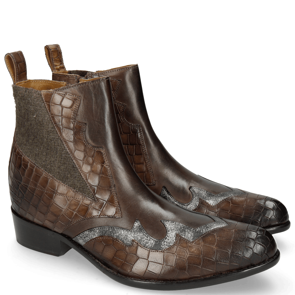 Ankle boots Hugo 1 Crock New Taupe Varadeo Carbon