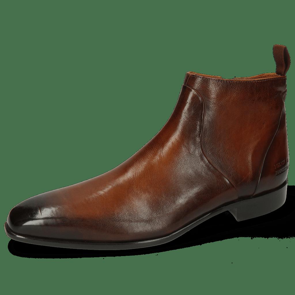 Ankle boots Lance 51  Pisa Cognac Dark Brown