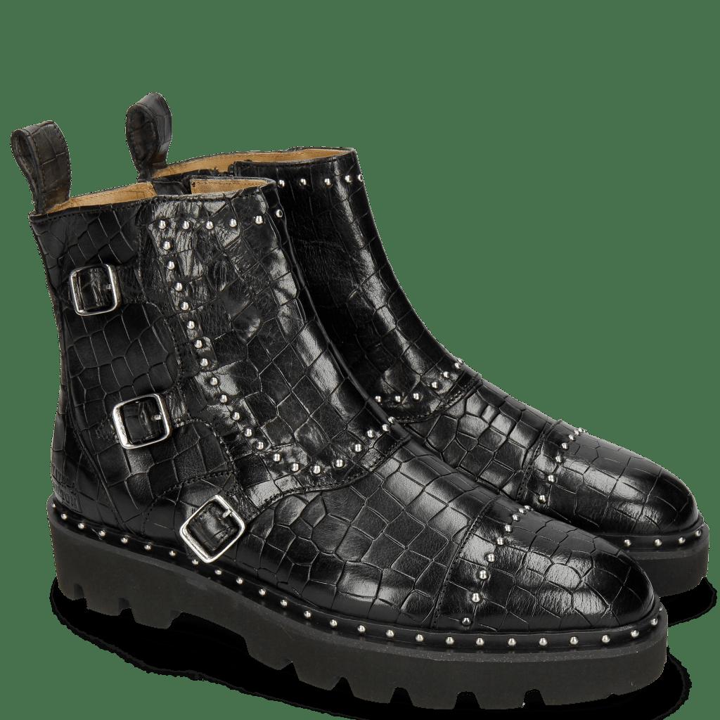 Ankle boots Susan 45 Crock Black Loop