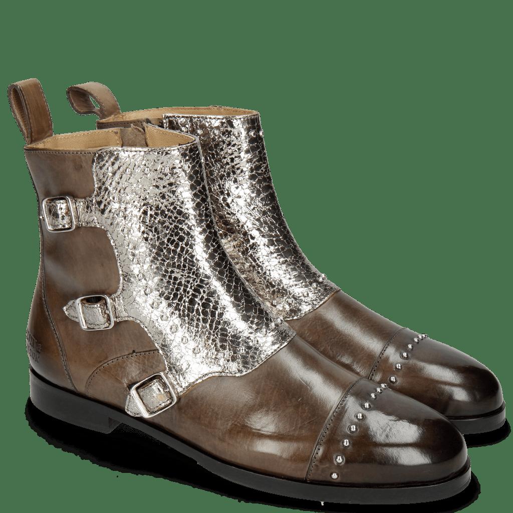 Ankle boots Susan 45 Grigio Cromia Gunmetal