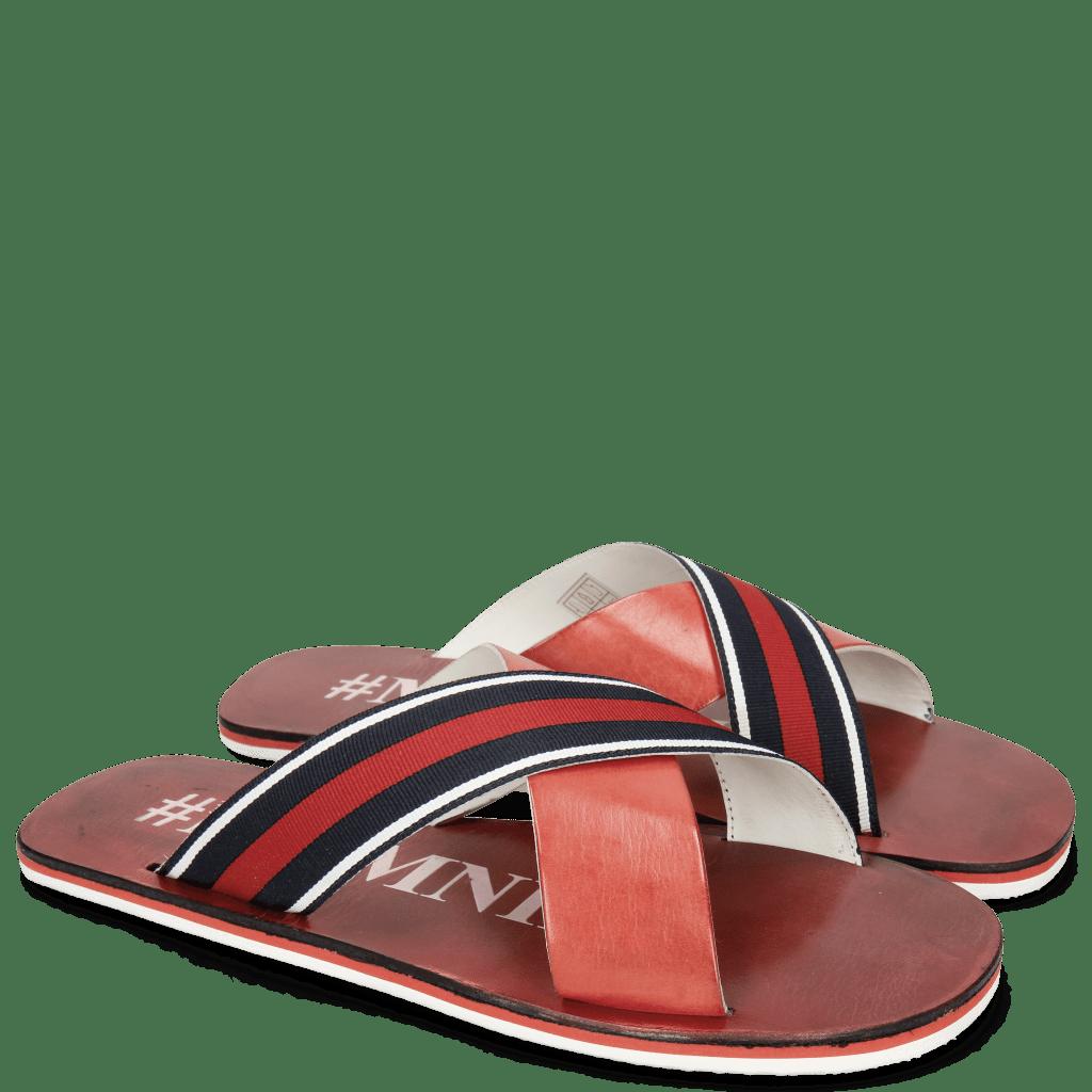 Sandals Sam 5 Ruby Strap Red Blue