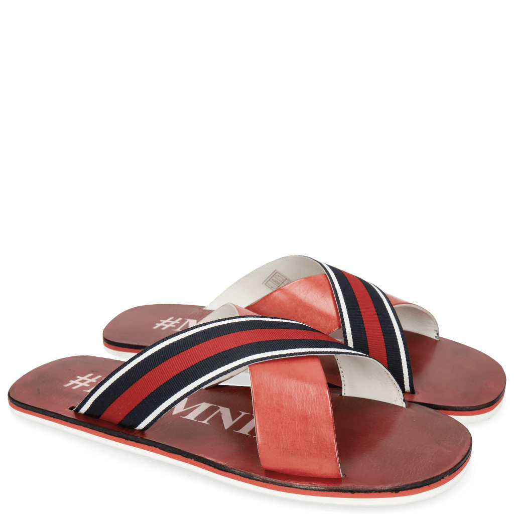 Sandals Sam 5 Ruby Strap Red Blue