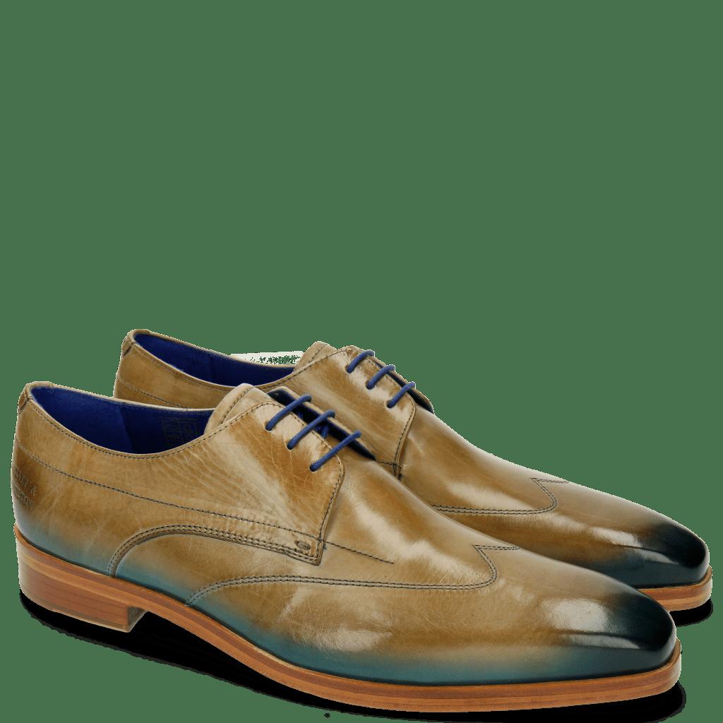 Derby shoes Lewis 9 Visone Shade Bluette