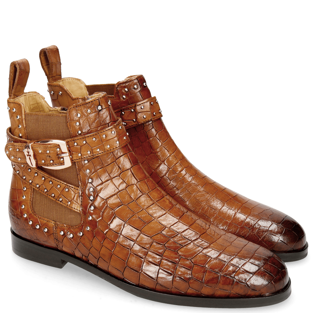 Ankle boots Susan 68 Crock Wood Elastic Glitter