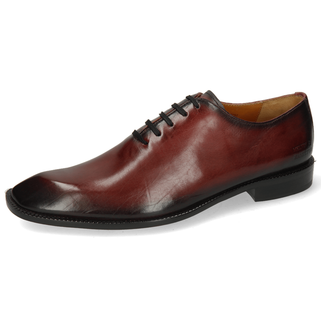 Oxford shoes Gaston 1 Plum Shade Black