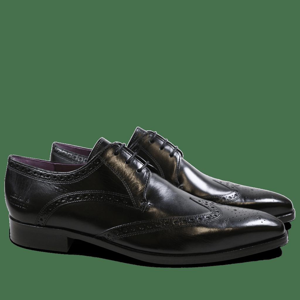 Derby shoes Lance 2 Crust Black HRS