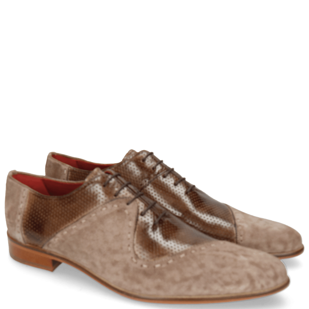 Oxford shoes Toni 18 Lima Vicuna Perfo Chestnut