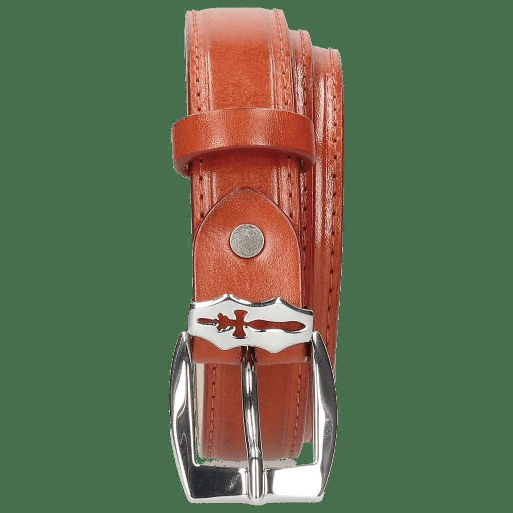 Belts Linda 1 Winter Orange Sword Buckle
