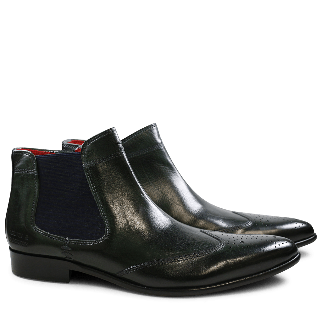 Ankle boots Toni 4 Winter Forest Elastic Navy