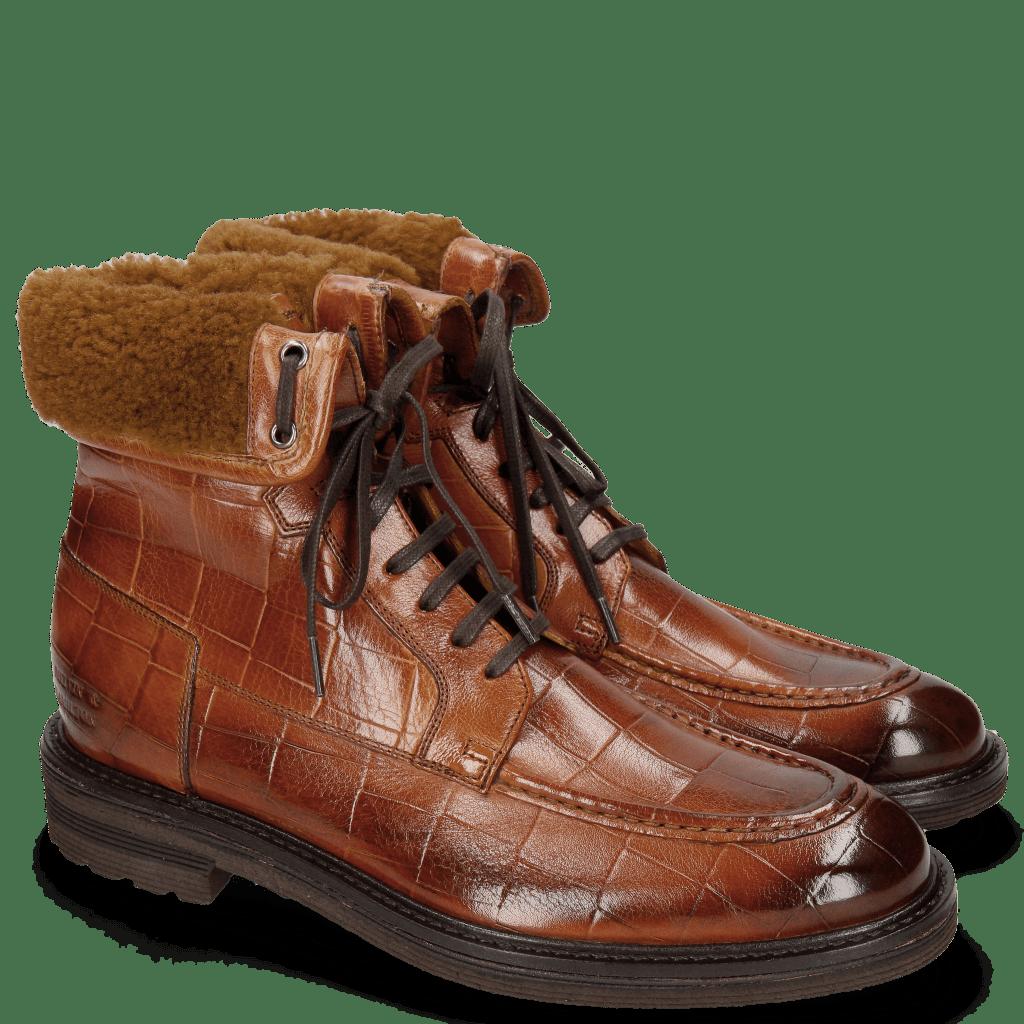 Ankle boots Trevor 31 Turtle Tan Sherling Camel
