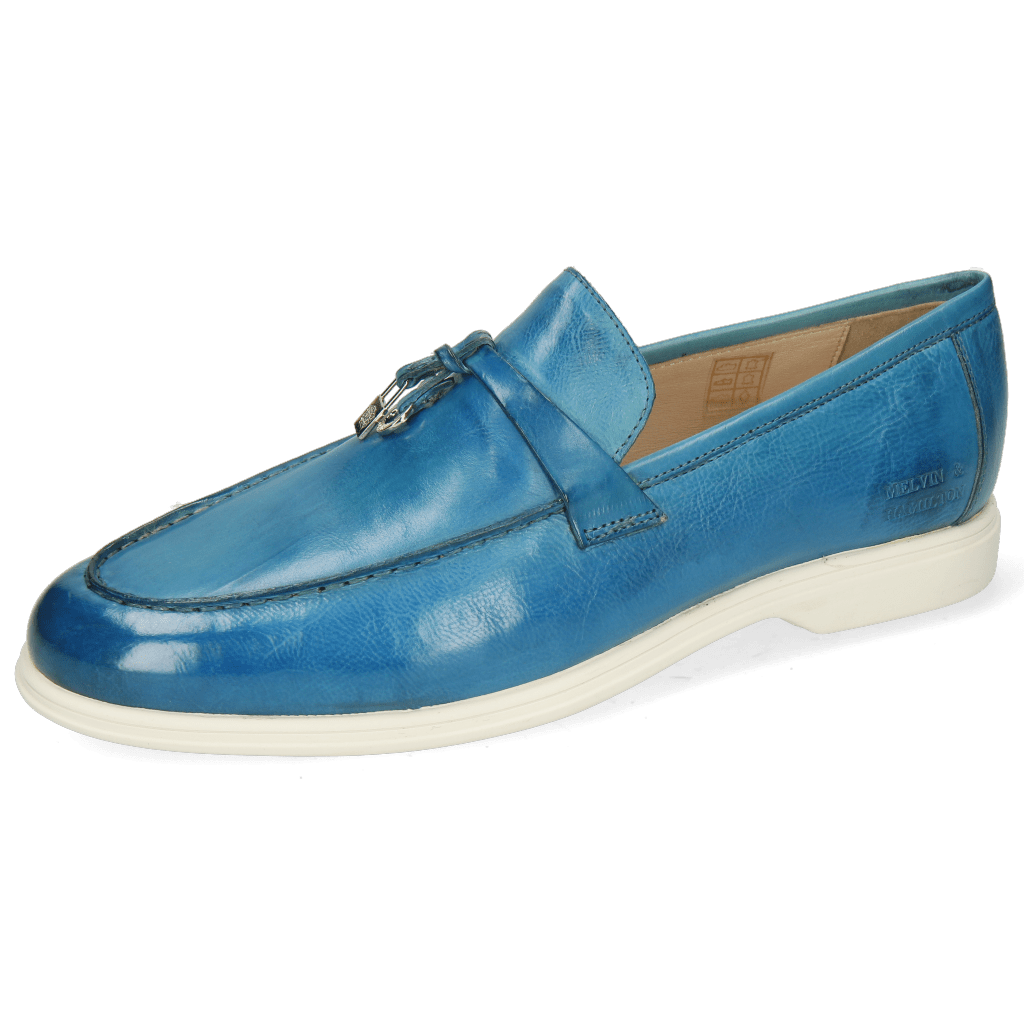 Loafers Earl 3  Pisa Bluette