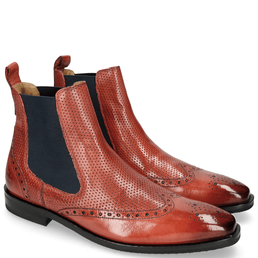 Ankle boots Alex 9 Berlin Perfo Ruby Elastic Navy