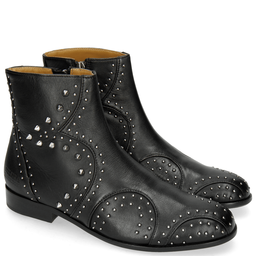 Ankle boots Sally 79 Nappa Soft Black