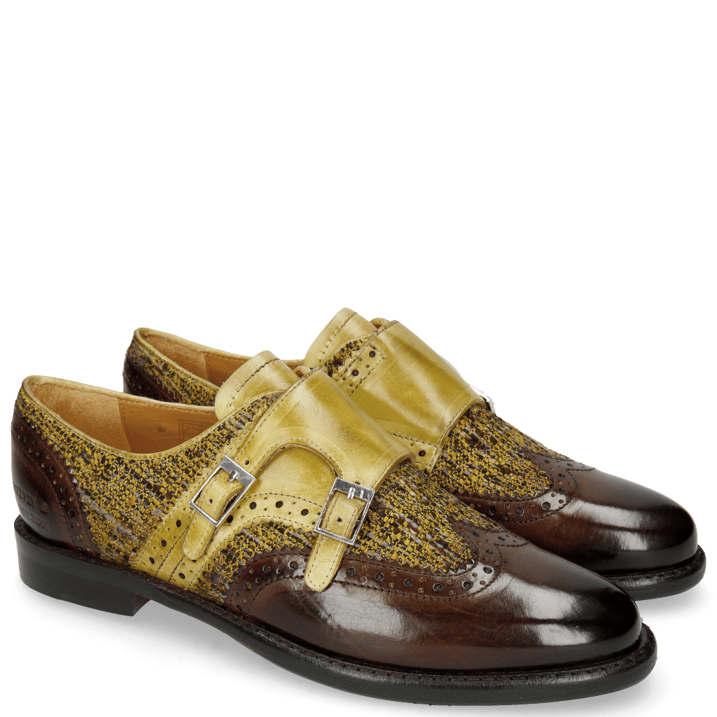 Monks Selina 1 Brown Cedro Tex Pixel Cedro
