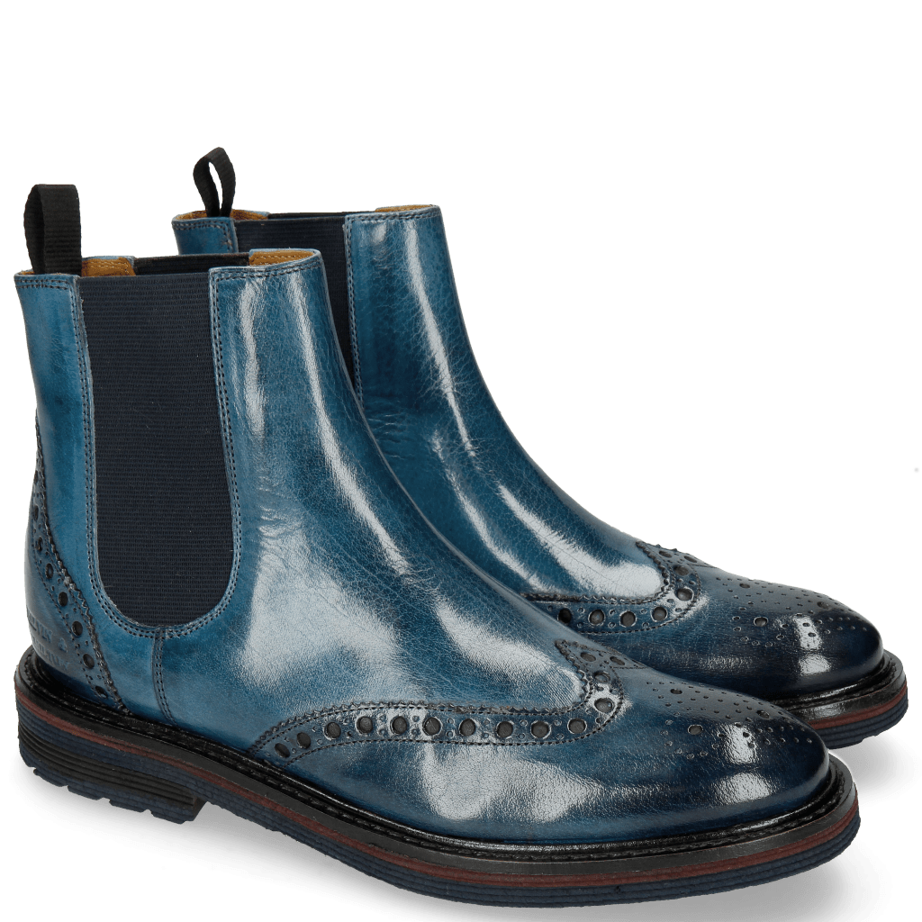 Ankle boots Amelie 63 Marine Elastic Navy