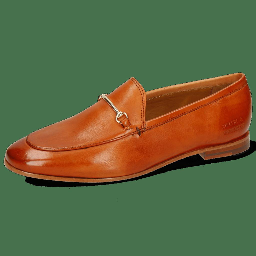 Loafers Scarlett 22 Pisa Arancio Trim Gold