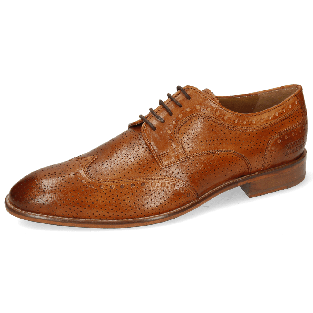 Derby shoes Kane 33 Venice Perfo Wood