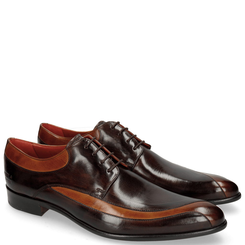 Derby shoes Toni 36 Tan Mogano